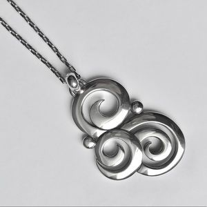Brighton Silver Pendant Necklace